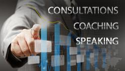Consultations, Speaking